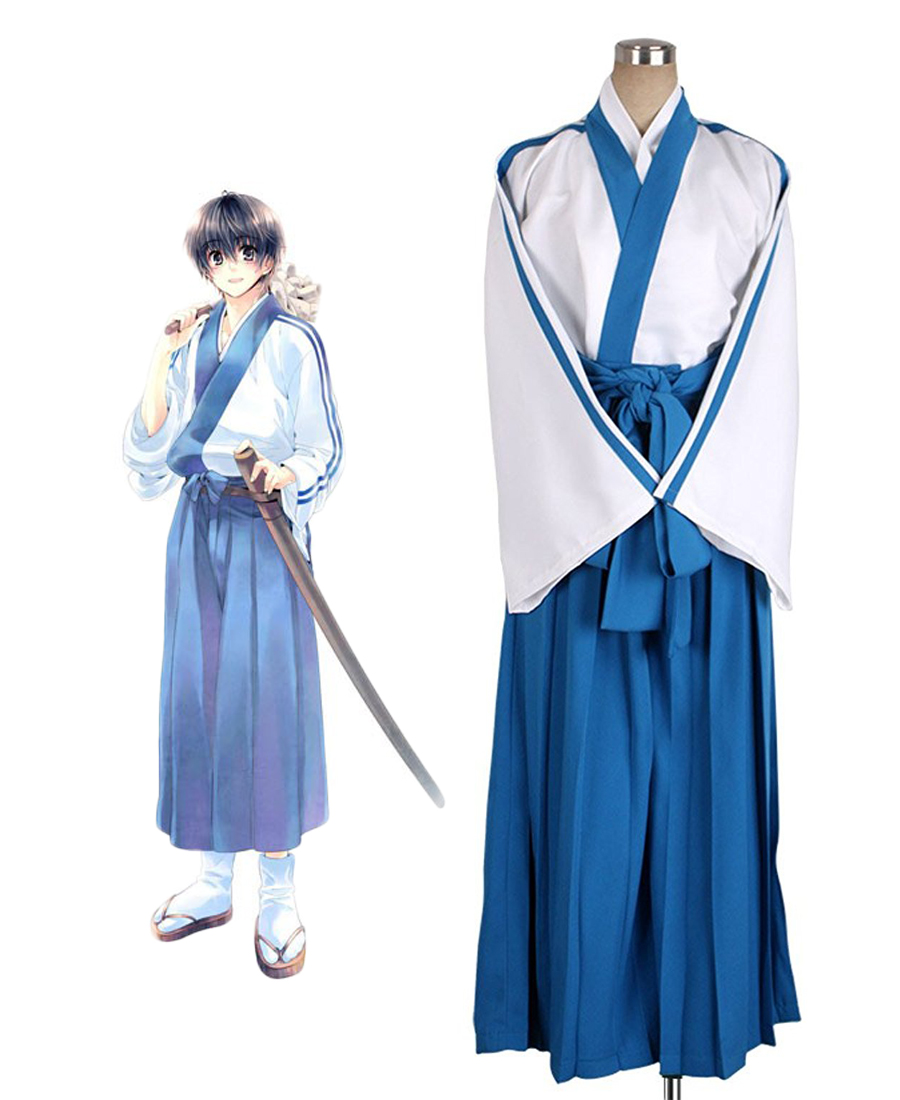 Gintama Shimura Shinpachi Cosplay Kostüm Tailor Made