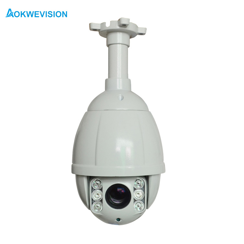 4 inç onvif 1080 p full hd hızlı ptz dome ip kamera Mini 2.0MP 10X Optik Zoom POE ptz ip kamera gece görüş 50 m