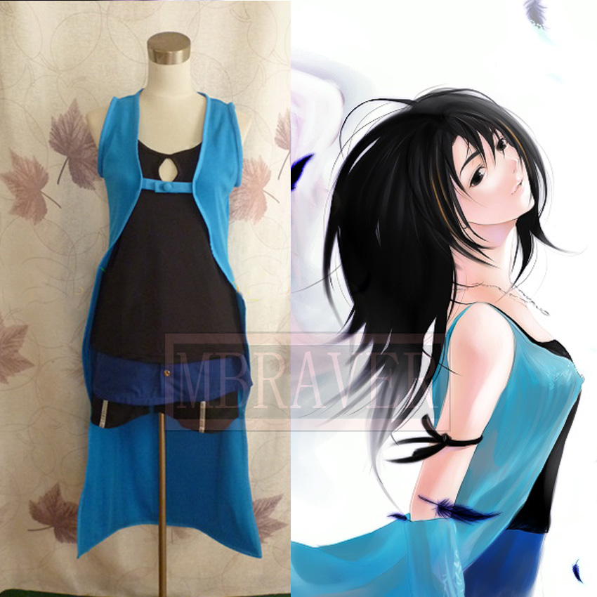 Final Fantasy Heartilly Rinoa Cosplay Kostüm